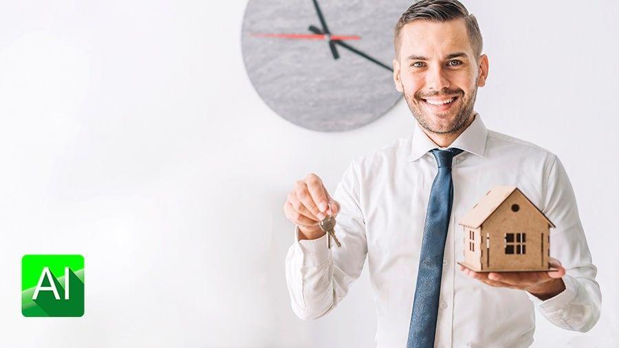 inversión para ser un agente inmobiliario