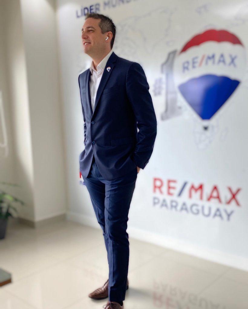 César Cáceres - Regional Owner RE/MAX Paraguay